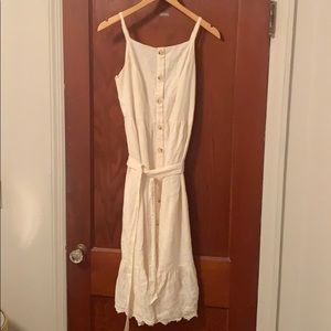 Old Navy Cream Spring Dress